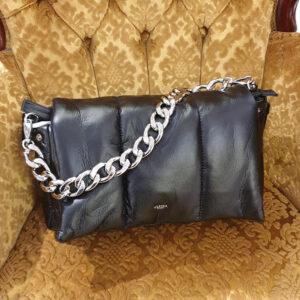 ulrika fluffy väska svart